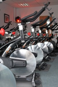 Cycling classes at the Backrow Recreation Centre